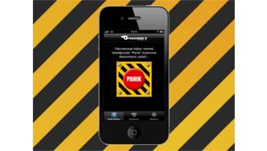 Hayat kurtaracak iPhone uygulaması: Pronet Panik Butonu