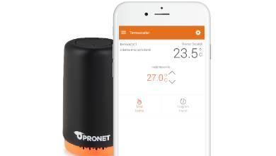 Pronet'ten tasarruf sağlayan çözüm: Akıllı Termostat