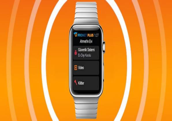 Pronet Plus, Apple Watch Uygulaması İle Saatten Evi Kontrol Dönemi Başlattı